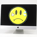 "Apple iMac 27"" 5K 17,1 Core i5 6500 @ 3,2GHz 16GB 256GB SSD Glasbruch Late 2015"