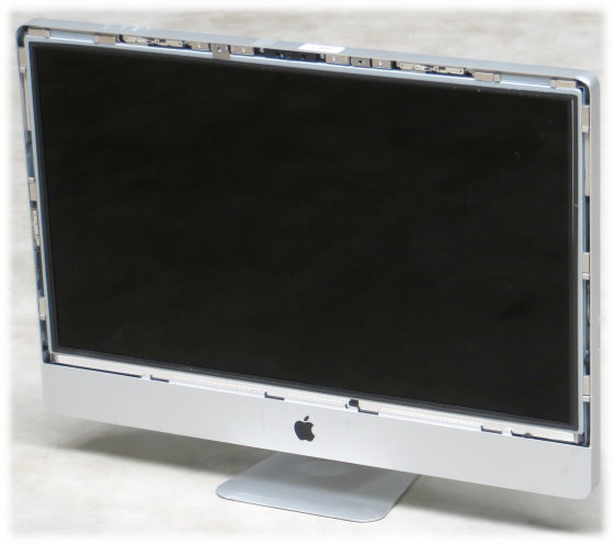 "Apple iMac 27"" 11,1 Quad Core i7 860 @ 2,8GHz 12GB ohne HDD/Glas B- Ware Late 2009"