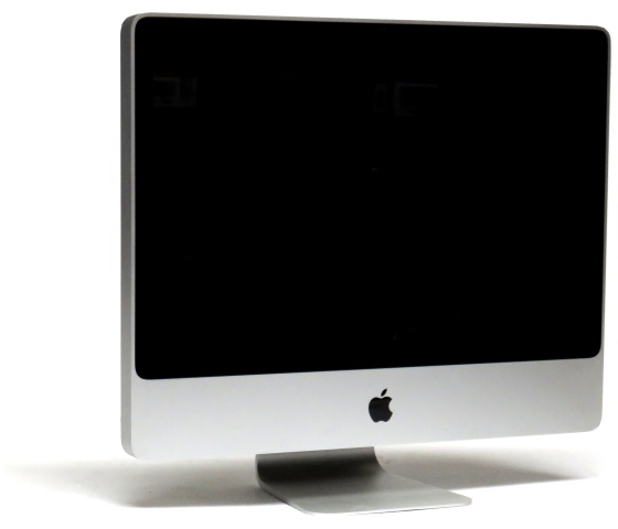 """24"""" Apple iMac 9,1 C2D E8135 2,66GHz ohne RAM/HDD (Early 2009) defekt ohne Funktion"""