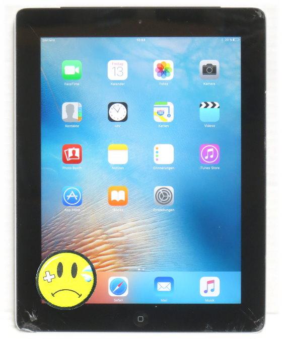apple ipad 3 generation 32gb 3g wi fi tablet glasbruch c. Black Bedroom Furniture Sets. Home Design Ideas