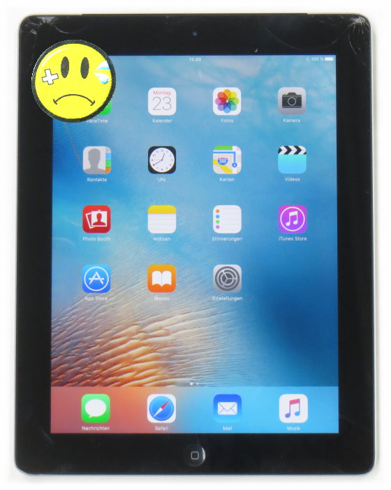 apple ipad 3 tablet 16gb wifi cellular 3g glasbruch c. Black Bedroom Furniture Sets. Home Design Ideas