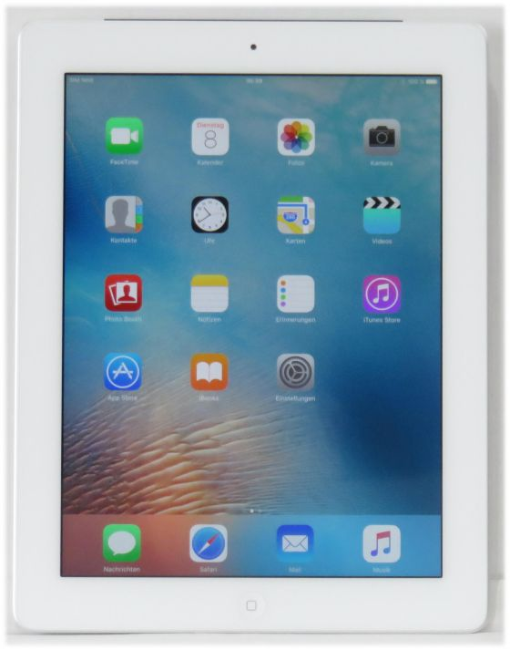 apple ipad 4 9 7 retina 32gb wifi cellular wei ohne. Black Bedroom Furniture Sets. Home Design Ideas