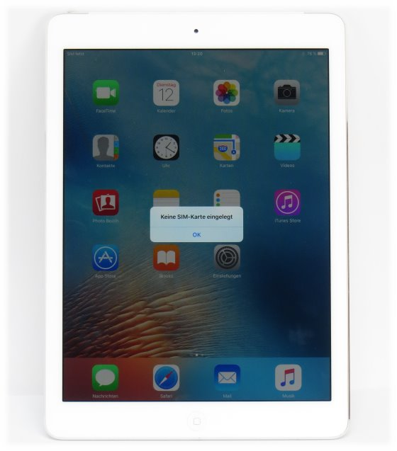 Apple iPad Air 32GB WiFi + Cellular Tablet PC weiß-silber