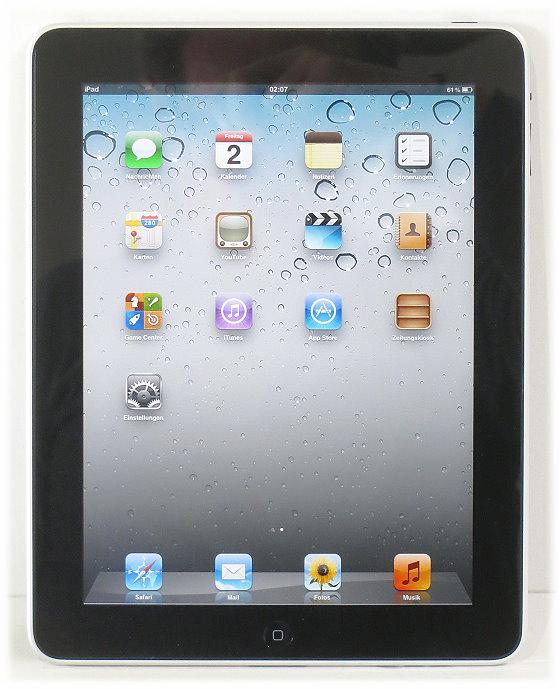 apple ipad wifi cellular 3g 64gb tablet schwarz simlock. Black Bedroom Furniture Sets. Home Design Ideas
