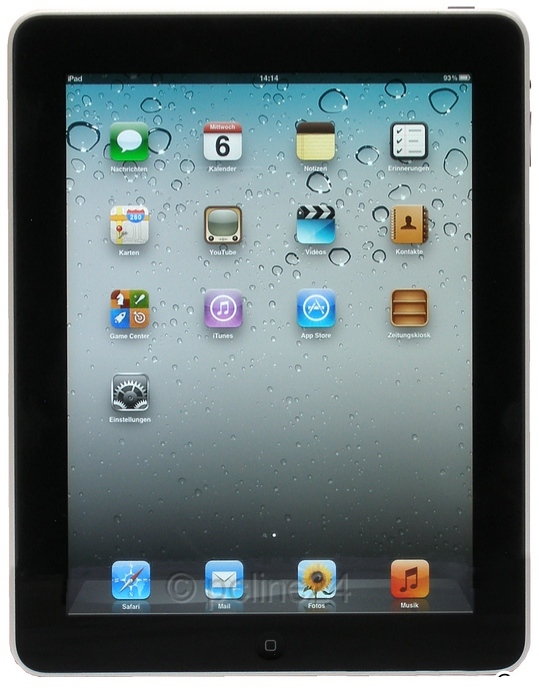 Apple iPad 1.Generation iOS IPS TFT 32GB Tablet-PC 3G B- Ware