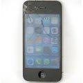 Apple iPhone 4 schwarz-silber 8GB Smartphone SIMlockfrei C- Ware Displaybruch