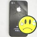 Apple iPhone 4 schwarz 32GB Smartphone SIMlock-frei C- Ware Glasbruch