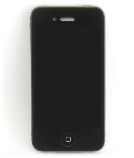 Apple iPhone 4 schwarz Smartphone defekt an Bastler