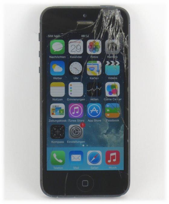 Apple iPhone 5 schwarz 32GB Smartphone C- Ware SIMlock-frei