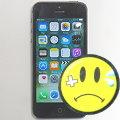 Apple iPhone 5 schwarz 32GB Smartphone C- Ware (Kamera defekt, Powerknopf hängt)