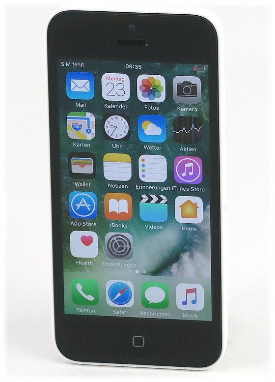 "Apple iPhone 5C weiß 16GB Smartphone ohne SIMlock 4"" Retina display"