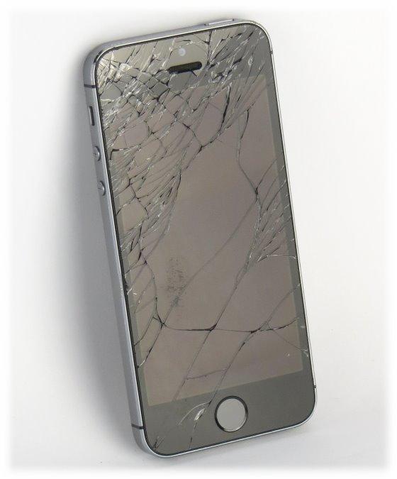 Apple iPhone 5S schwarz-silber 16GB Smartphone C- Ware SIMlock-frei