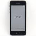 Apple iPhone 5S schwarz-silber 32GB Smartphone ohne Ladegerät (Apple-ID gesperrt) B- Ware