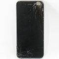 Apple iPhone 6 16GB schwarz-silber C- Ware Glasbruch ohne Ladegerät