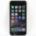 Apple iPhone 6 schwarz 64GB Smartphone ohne Ladegerät C- Ware Glasbruch