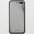 "Apple iPhone 6 schwarz 64GB Smartphone 4,7"" ohne Ladegerät Glasbruch iCloud Sperre"