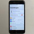 Apple iPhone 6 schwarz 64GB Smartphone ohne Ladegerät (leichte Displayfehler)