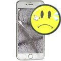 """Apple iPhone 6 weiß-silber 64GB Smartphone 4,7"""" ohne Ladegerät C- Ware Glasbruch"""