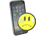 """Apple iPhone 6S schwarz-silber 64GB ohne SimLock 4,7"""" Glasbruch C- Ware"""