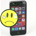 Apple iPhone SE Glasbruch C- Ware 32GB schwarz ohne SIMlock ohne Ladegerät