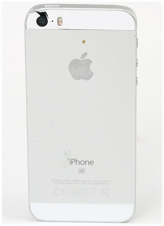Apple iPhone SE (Hintergrundbeleuchtung defekt) C- Ware 128GB Gehäüseschäden