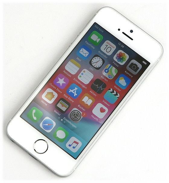 "Apple iPhone SE weiß-silber 128GB Smartphone 4"" SIMlock-frei"