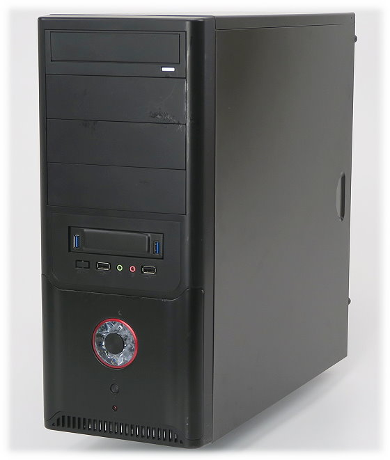 Asus H97 Plus Quad Core i5 4440 @ 3,1GHz 8GB 500GB Tower PC 6x USB 3.0