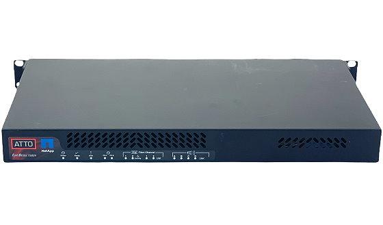 Atto FibreBridge 7500N Storage Controller 2x SFP+ 16Gbps 4x miniSAS 12Gbps 2x PSU