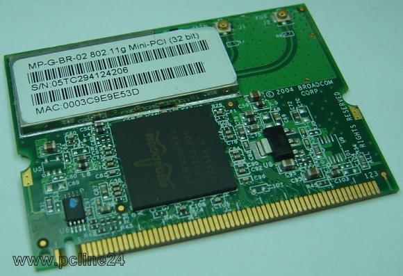 Pci Wlan Karte.Broadcom Bcm4306kfb Mini Pci Wlan Karte Für Notebooks Minipci Karten