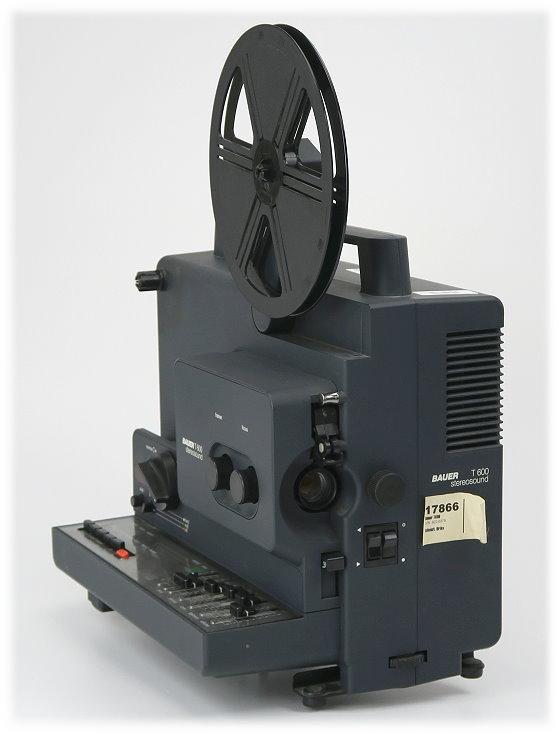 Bauer T600 Stereosound Super 8 Tonfilmprojektor Retro-Beamer Vintage