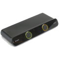Belkin F1DD102L SOHO 2-Port DVI USB Audio KVM Switch ohne Netzteil
