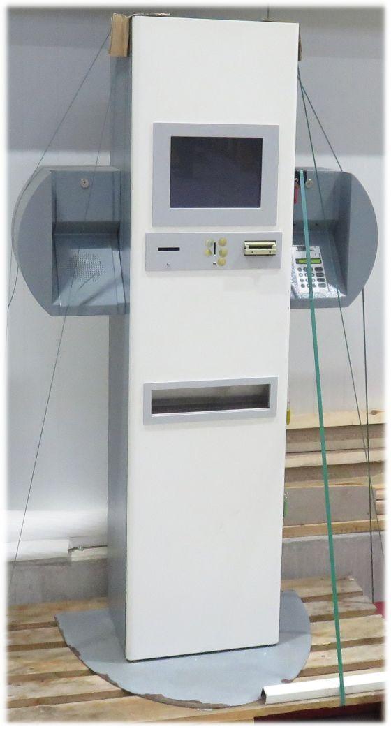 "Kassensystem Kassenautomat 12"" Touchscreen Kartenautomat Münzen/Scheine Euro"