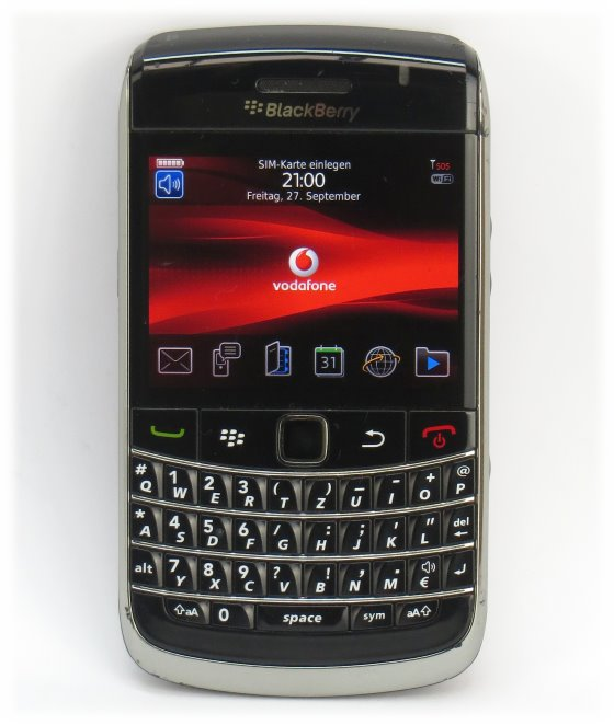 Blackberry Bold 9700 Handy mit Tastatur deutsch QWERTZ B- Ware