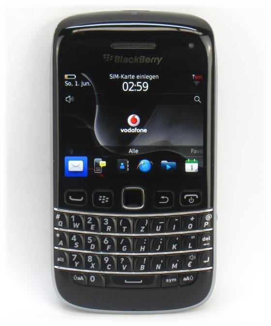 Blackberry Bold 9790 Handy mit Tastatur deutsch QWERTZ ohne Ladegerät ohne Akku B- Ware