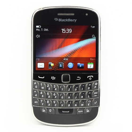 Blackberry Bold 9900 Smartphone B- Ware ohne Ladegerät