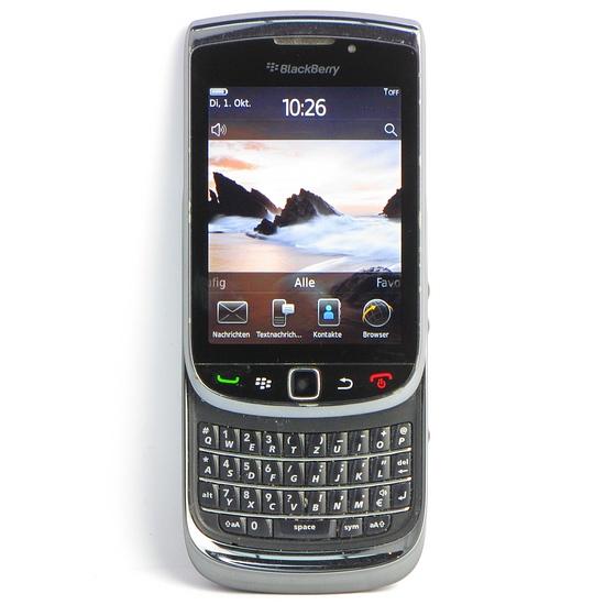 Blackberry Torch 9800 Schwarz QWERTZ Slider Smartphone