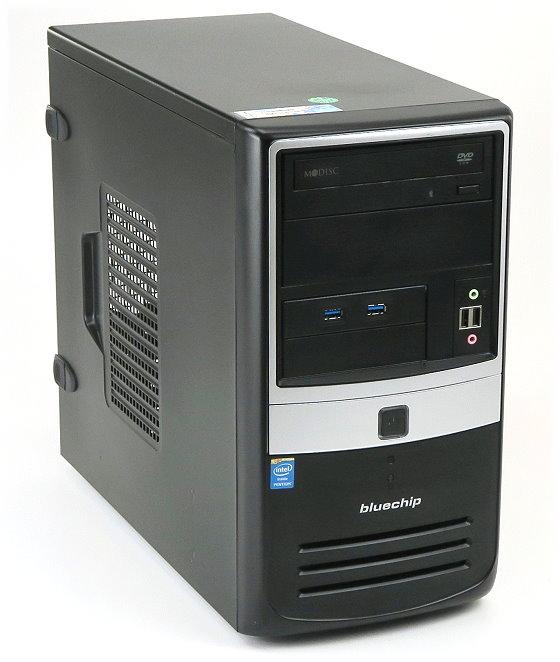 BlueChip BussINESSline ind. Gehäuse mit Netzteil 350W und DVD-ROM