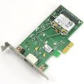 Broadcom BCM943228HM4L PCIe x1 WLAN-Karte low-profile ohne Antenne