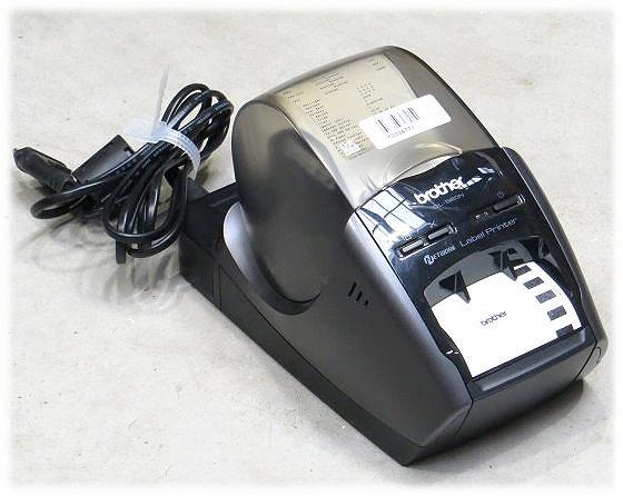 Brother QL-580N Etikettendrucker Thermodirekt Drucker LAN USB