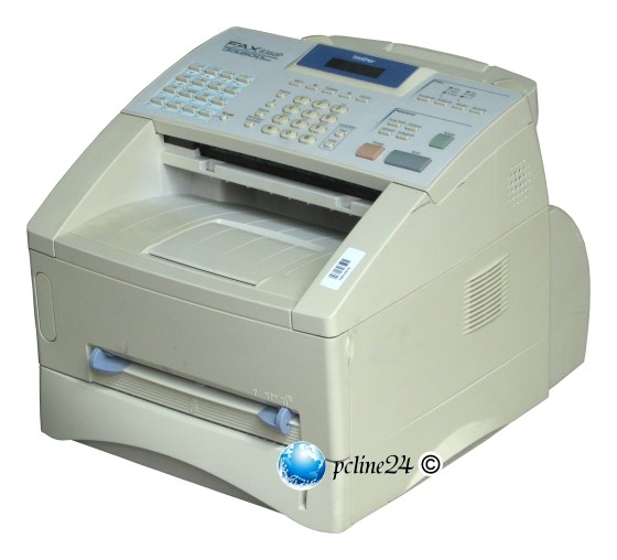 Brother FAX-8360P Faxgerät Kopierer mit ADF ohne Toner