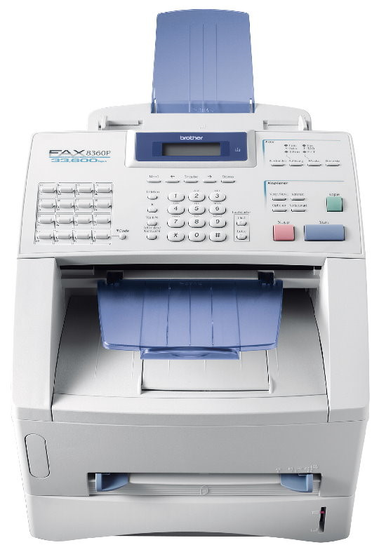 Brother FAX-8360P Faxgerät Kopierer mit ADF defekt an Bastler