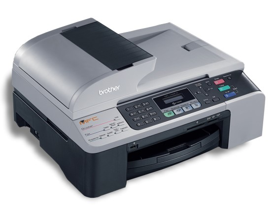 brother mfc 5460cn all in one fax adf kopierer scanner. Black Bedroom Furniture Sets. Home Design Ideas
