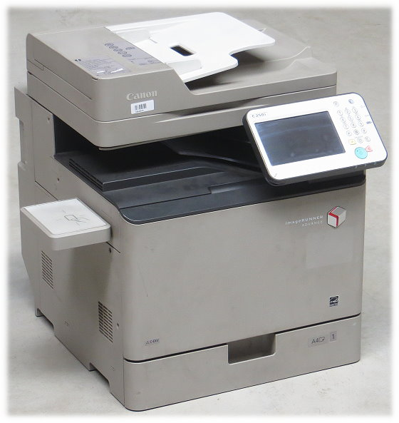 Canon iR-ADV C250i All-in-One Kopierer Scanner Farblaserdrucker (Touch defekt)
