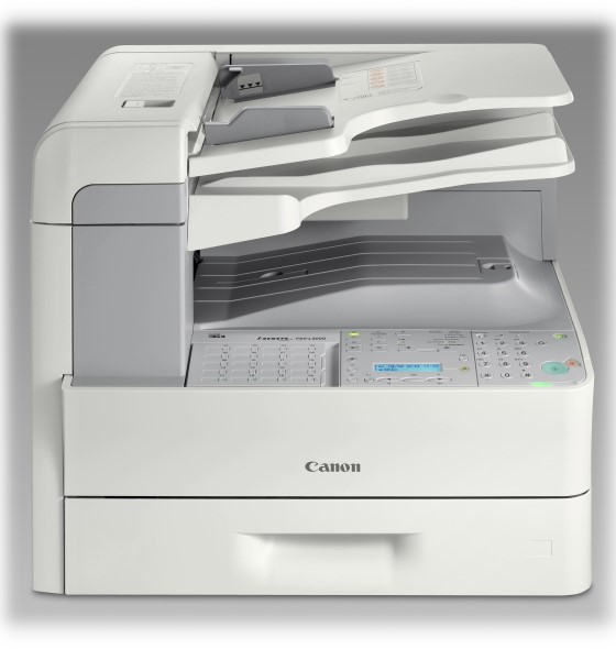 Canon FAX-L3000 Faxgerät Kopierer mit ADF Duplex Drucker B-Ware vergilbt