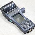 Casio IT-3000M56E Handscanner Data Terminal mit Drucker B-Ware Gehäuseschäden/Kratzer