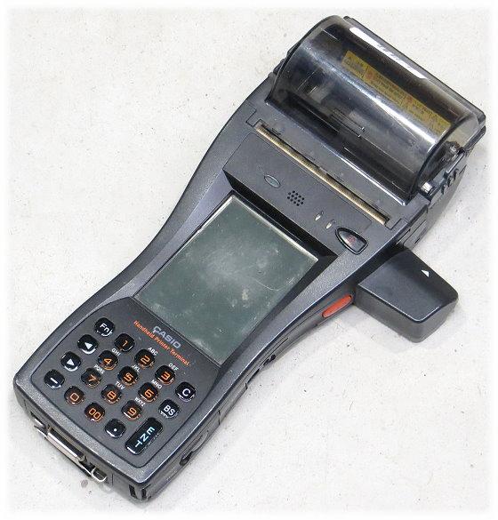 Casio IT-3100M56E Handscanner Data Terminal mit Thermo Drucker IP54 Bluetooth B-Ware