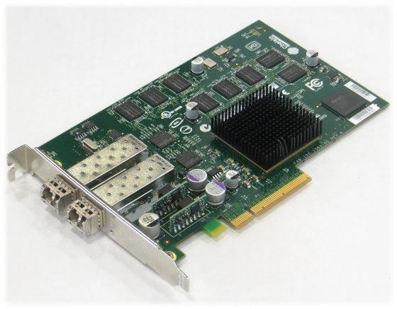 Chelsio Dual Port 10Gb PCIe 10GbE Fibre Channel FC 110-1114-30 A0 2x SFP 10Gb GBIC