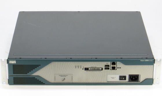 Cisco 2821 v04 Router mit BRI 4B-S/T und WIC 1T