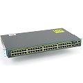 Cisco Catalyst 2960-S Gigabit Switch 48x RJ-45 WS-C2960S-48TS-S V02 im 19 Zoll Rack