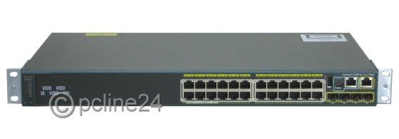 Cisco Catalyst 2960-S WS-C2960S-24PS-L V03 Switch 24x Port Gigabit PoE+